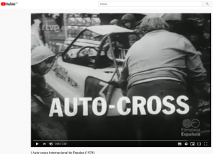 Auto-cross 1974 bideo